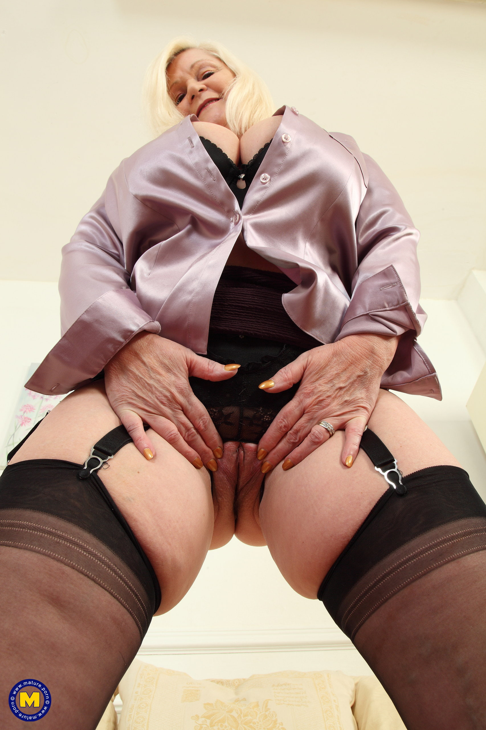 Hot granny lacey starr being double stuffed 8